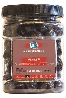 Marmarabirlik Doğal Siyah Zeytin Yağlı Salamura 450 G