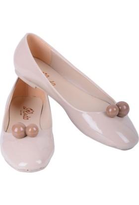Cudo 044-440 Kadın Rugan Ayakkabı - 18-1B565102