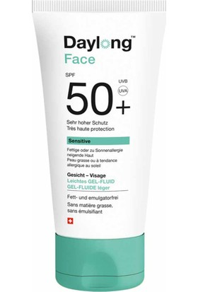 Daylong Sensitive Face SPF50+ Gel-Fluid 50ml