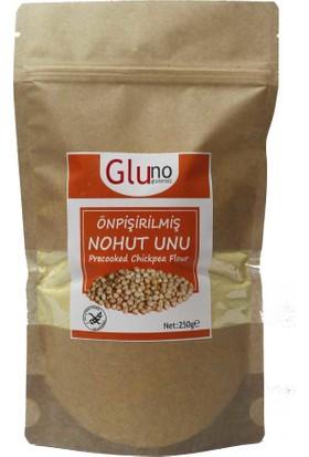 Gluno Glutensiz Önpişirilmiş Nohut Unu 250 gr