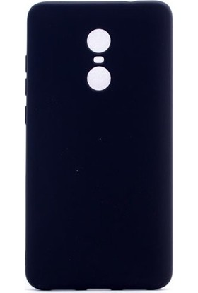 KNY Xiaomi Redmi 5 Kılıf Ultra İnce Mat Silikon + Nano Cam Ekran Koruyucu