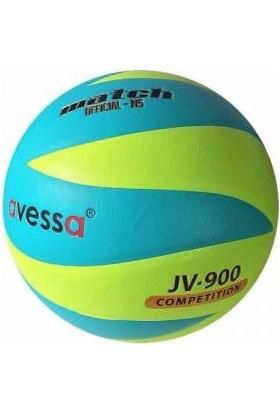 Avessa Fosforlu Yapıştırma Voleybol Topu Yeşil B 3010