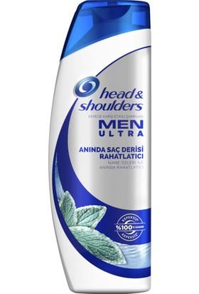 Head & Shoulders Men Ultra Erkeklere Özel Şampuan Anında Saç Derisi Rahatlatıcı 500 ml