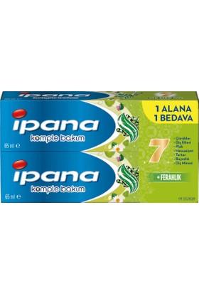 ipana Komple Bakım Diş Macunu + Ağız Bakım Suyu Ferahlatıcı Temizlik 1+ 1 (65 ml + 65 ml)