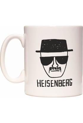 Rock'n Fox Heisenberg Walter White Breaking Bad Tasarım Kupa Bardak