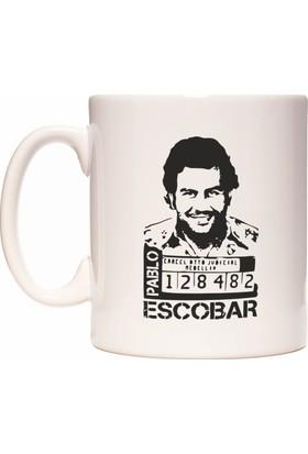 Rock'n Fox Pablo Escobar Narcos El Patron Temalı Kupa Bardak