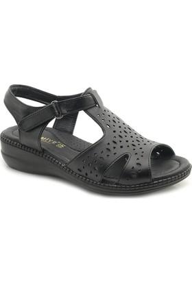 Palmiye Comfort 8522 Düz Taban Ortopedik Sandalet