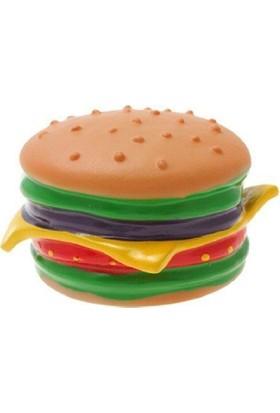 Buffer Hamburger Şeklinde Kedi Köpek Oyuncağı