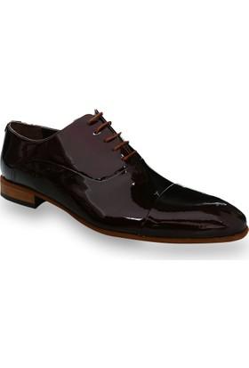 Centone Erkek Bordo Deri Ayakkabı -18-5016