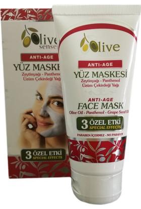 Olive Senses Antı-Age Yüz Maskesi 100 Ml