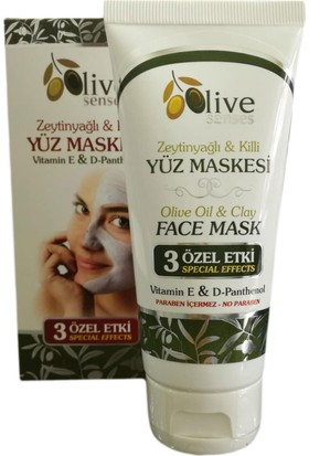 Olive Senses Zeytinyağlı & Killi Yüz Maskesi 100 Ml