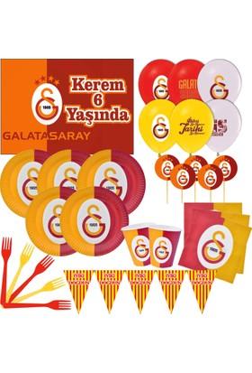 Galatasaray 16 Kişilik Parti Seti + İsimli Afiş