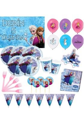 Frozen 24 Kişilik Doğum Günü Seti