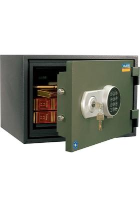 Valberg Frs 30 Anahtarlı ve Elektronik Şifreli Yangın Sertifikalı Kasa