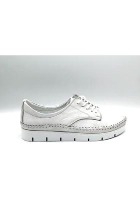 Palet Kadın Günlük Deri Ayakkabı