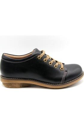 Sms Kadın Siyah Renk Günlük Ayakkabı
