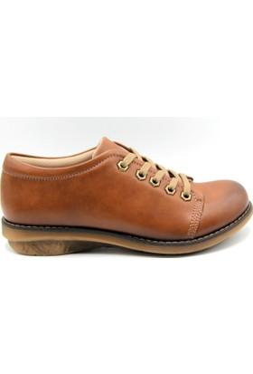 Sms Kadın Taba Renk Günlük Ayakkabı