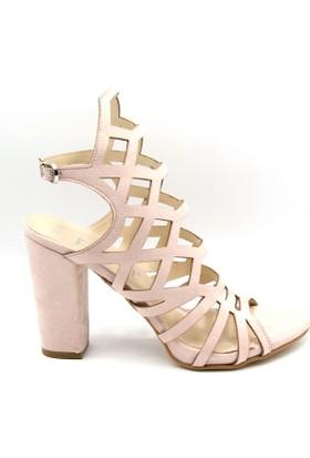 Steymi Kadın Günlük Topuklu Sandalet