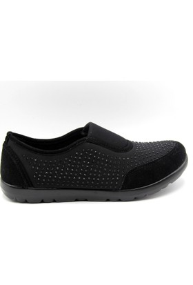 Tofima Gündelik Siyah Kadın Ayakkabı