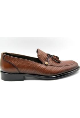 Zafer Türkoğlu Klasik Taba Renk Erkek Ayakkabı