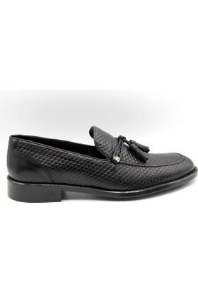 Zafer Türkoğlu Klasik Siyah Renk Erkek Ayakkabı