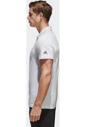 Adidas Erkek Polo Tişörtü Spor Beyaz Br1052 Ess Base Polo