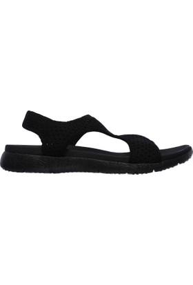 Skechers 39056-Bbk Microburstmegastretch Kadın Sandalet