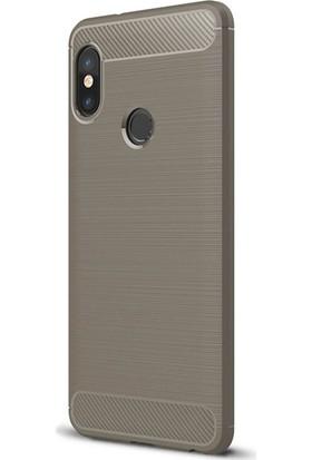 Microsonic Xiaomi Redmi Note 5 Pro Kılıf Room Silikon Gri