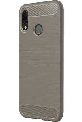 Microsonic Huawei P20 Lite Kılıf Room Silikon Gri