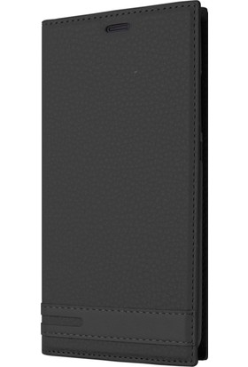Microsonic Sony Xperia XA2 Ultra Kılıf Gizli Mıknatıslı Delux Siyah
