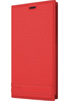 Microsonic Huawei P Smart Kılıf Gizli Mıknatıslı Delux Kırmızı