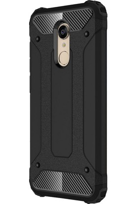 Microsonic Xiaomi Redmi 5 Plus Kılıf Rugged Armor Siyah