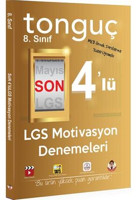 Tonguç Akademi Yayınları 8. Sınıf Son 4'lü LGS Motivasyon Denemeleri