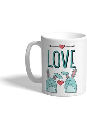 Mister Cupo Aşk Tavşanı Kupa