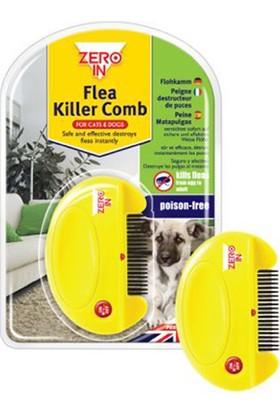 Zero In Flea Killer Tarak Kedi Köpekler için Bit ve Pire Tarağı