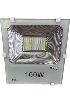 Foblight 100w Led Projektör Beyaz Kasa Beyaz Işık