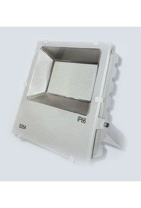 Foblight 200w Led Projektör Beyaz Kasa Beyaz Işık