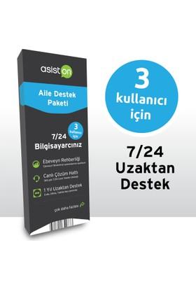 Asiston 1 Yıl 7/24 Aile Destek Paketi 3 Kullanıcı
