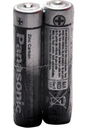 Panasonic Man. R03Ue/2S İnce Pil Shrink 2'li Paket