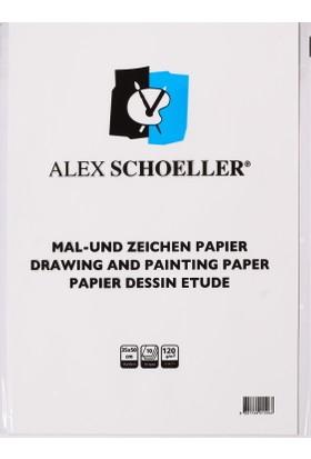 Ale x Resim Kağıdı 35 x 50 120 Gr 10 Lu
