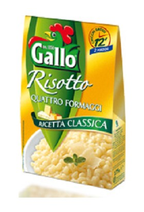 Dört Peynirli Hazır Risotto 175 Gr.