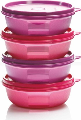 Tupperware Şeker Kaplar 300 ml 4'lü