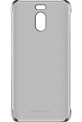 Meizu M6 Note Şeffaf Silikon Kılıf – Siyah