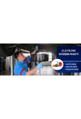 Remo Assist Araç Yağ, Hava ve Polen Filtresi Değişim Hizmeti