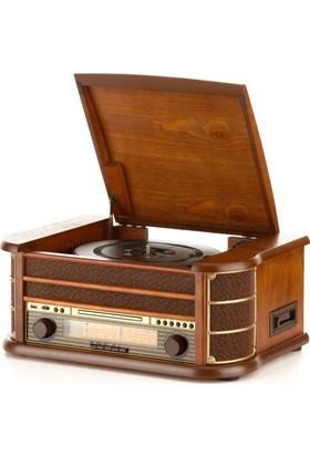Gdl Retro T518 Pikap Radyo Cd Kaset Usb Çalar
