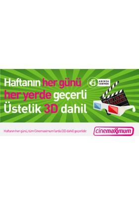 Tüm Cinemaximum'lar – (Premium Sinemalar Dahil - 3D Dahil) Sinema Bileti