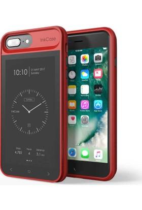 Oaxis InkCase i7 Plus Red iPhone Uyumlu Akıllı Kılıf