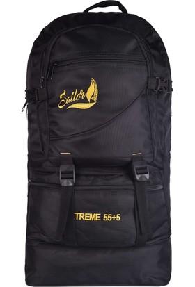 Sailor SD-9001 Siyah Dağcı Seyahat Sırt Çantası Büyük Boy Outdoor-Trekking A+ Kalite