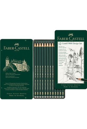 Castell 9000 Design Set 5B-6H12'li