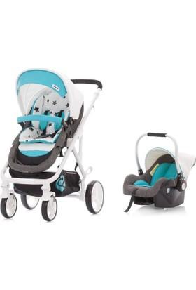 Chipolino Etro Turquoise Travel Set Bebek Arabası